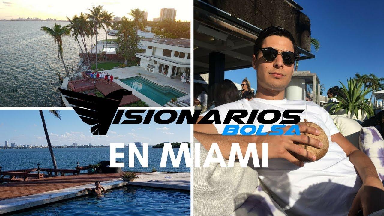 Visionarios Bolsa: Evento Presencial En Miami!
