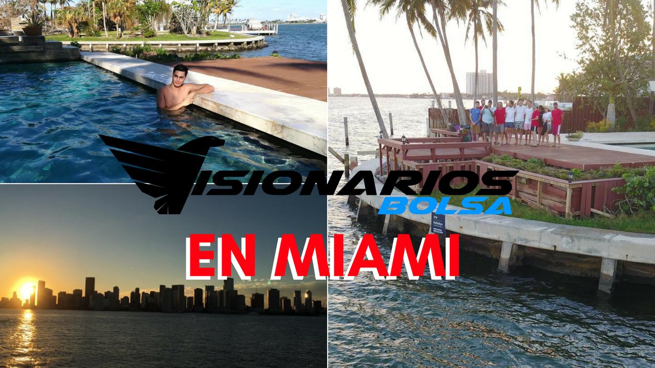 Visionarios Bolsa: Evento Presencial En Miami! Cap. 3 Partido De La NBA Y Puros En Little Havana