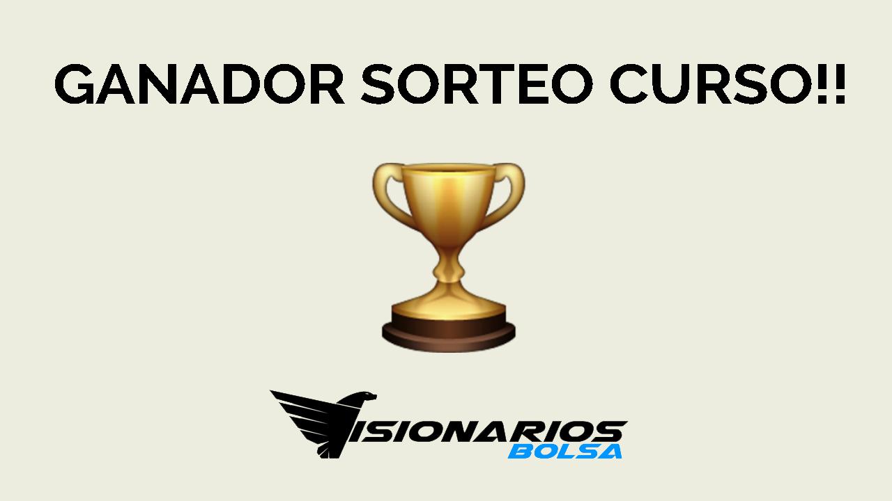 Ganador Del Sorteo Curso Visionarios Bolsa!! 👏🏼👏🏼👏🏼