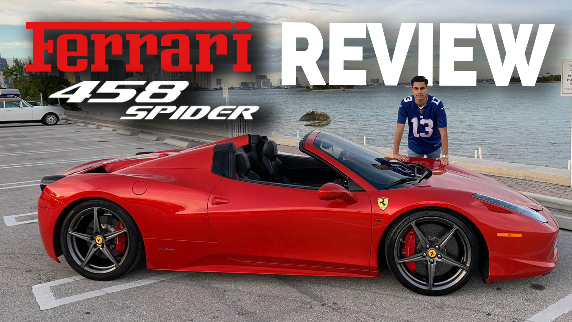 Review Ferrari 458 Spider