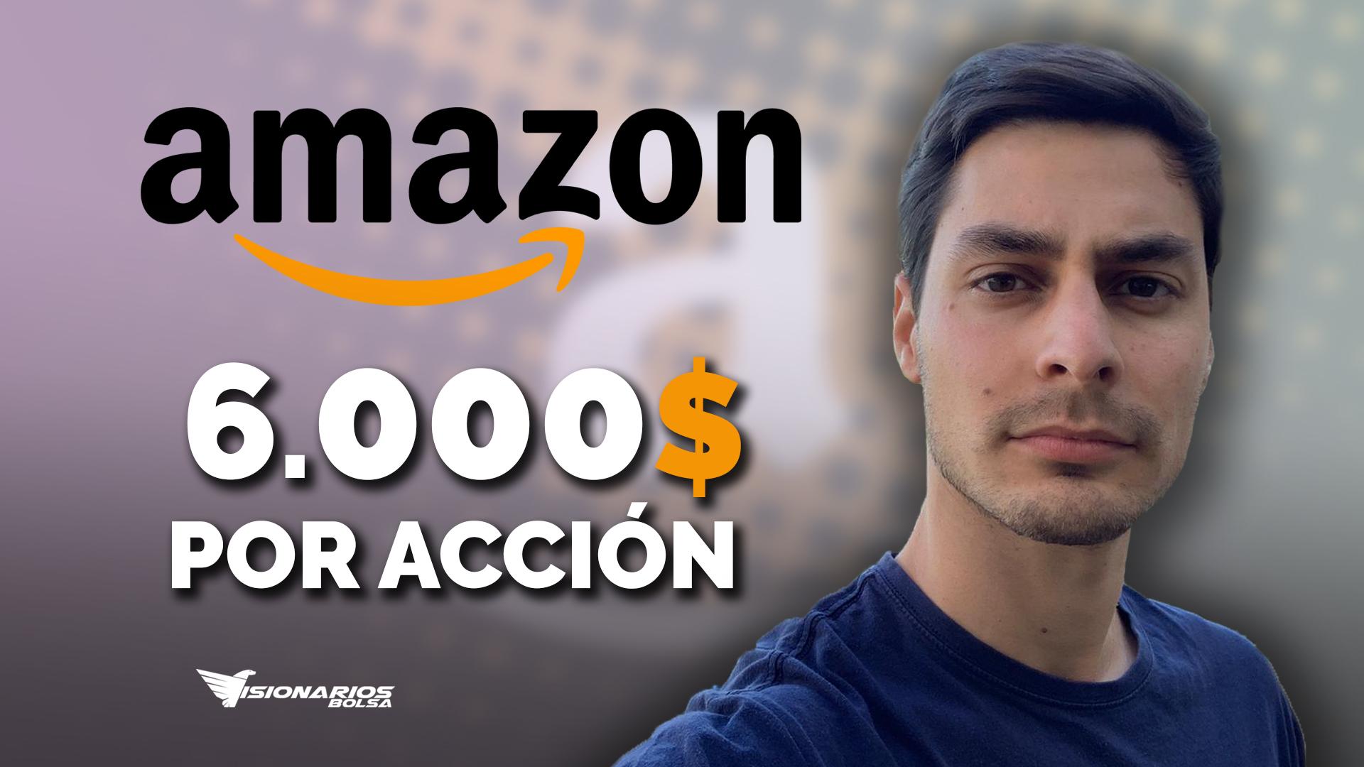 Análisis De AMAZON -> Llegará A 6.000$ Por Acción