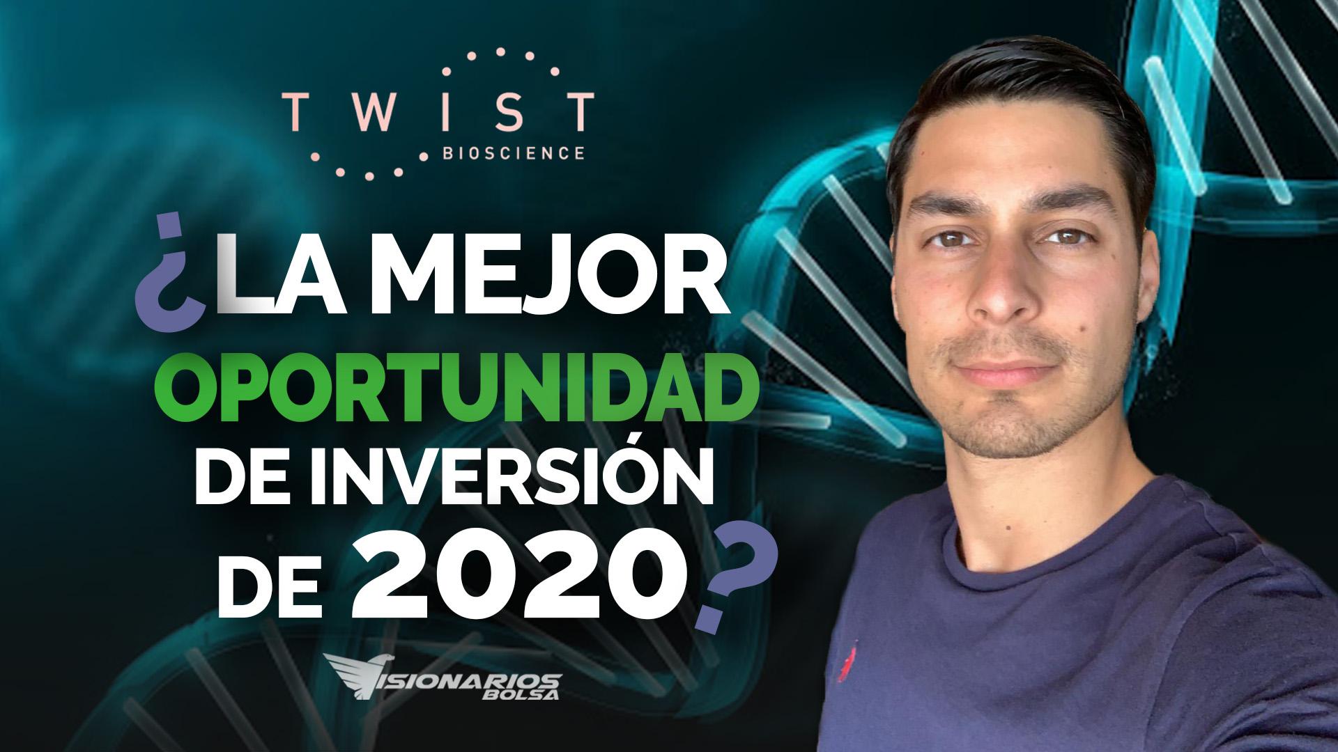 La Mejor Oportunidad De Inversión Del Año 2020 > Invertir En Twist Bioscience