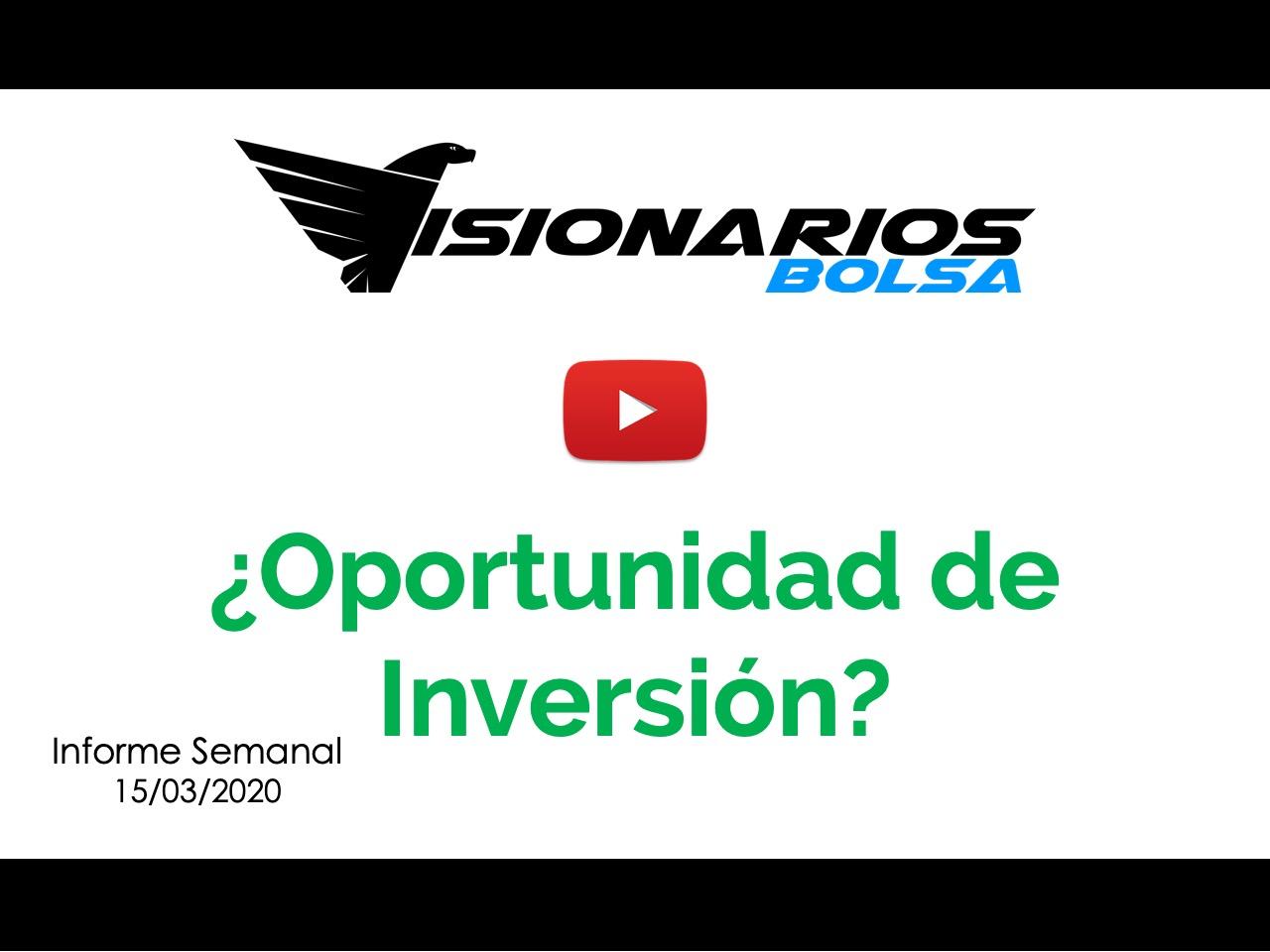 El Coronavirus Y La Bolsa, ¿Existe Oportunidad De Inversión?
