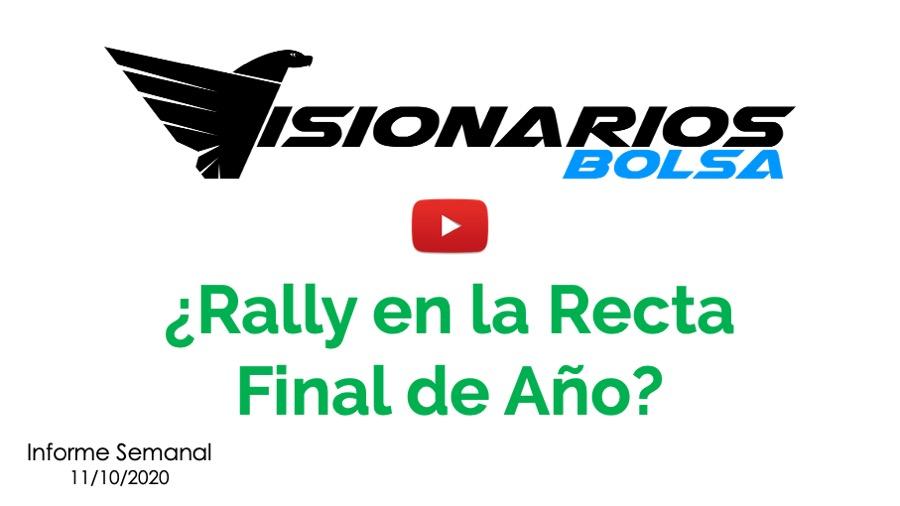 ¿Rally En El Mercado En Los Últimos Meses Del Año?